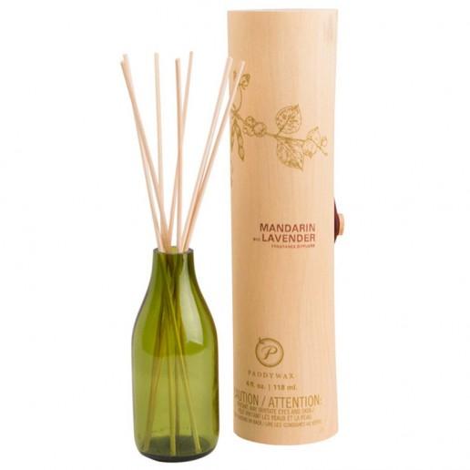 Mandarin and Lavender - Eco Green Paddywax Reed Diffuser