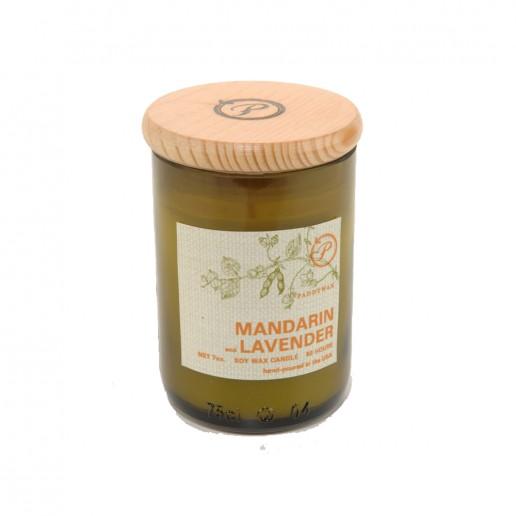 Mandarin & Lavender - Eco Green Paddywax Candle