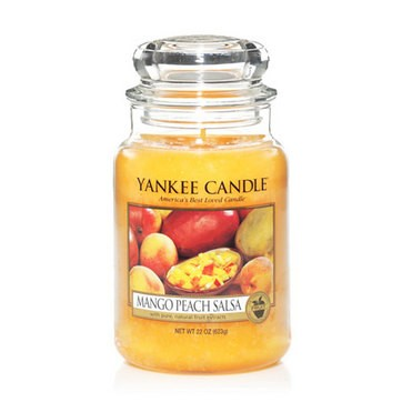 Mango Peach Salsa - Yankee Candle Large Jar