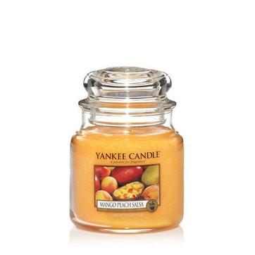 Mango Peach Salsa - Yankee Candle Medium Jar