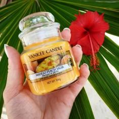 Mango Peach Salsa - Yankee Candle Small Jar lifestyle