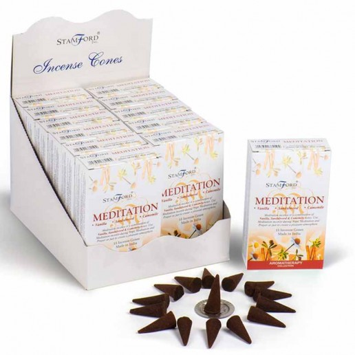 Meditation - Stamford Incense Cones