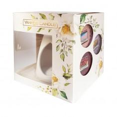 Melt Warmer And 3 Wax Melts - Yankee Candle Gift Set SS20