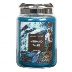 Mermaid Tales - Village Candle Large Jar