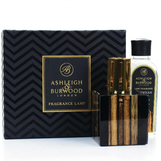 Midnight Bamboo Fragrance Lamp Gift Set