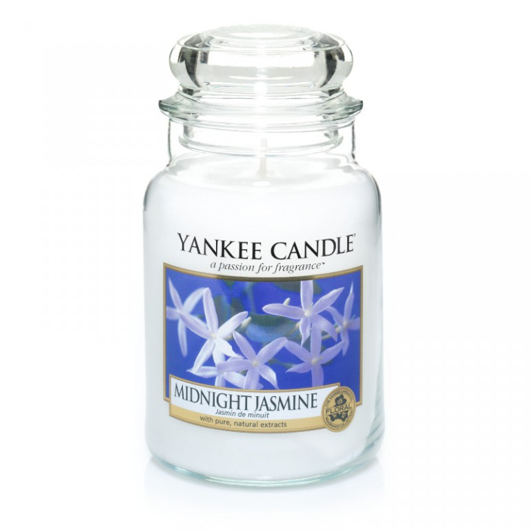Midnight Jasmine - Yankee Candle Large Jar