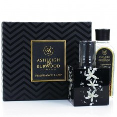 Midnight Silver Jasmine Fragrance Lamp Gift Set