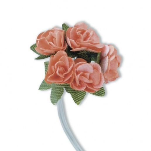 Mini Tea Rose - Peach