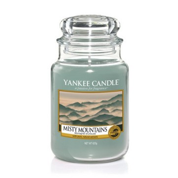 Misty Mountains - Yankee Candle Large Jar