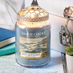 Misty Mountains Yankee Candle Large Lifestyle