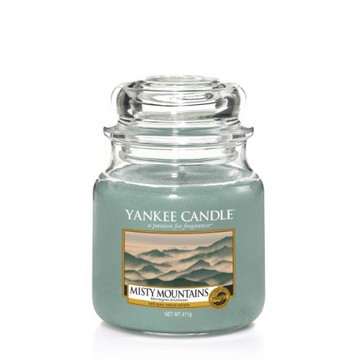 Misty Mountains - Yankee Candle Medium Jar