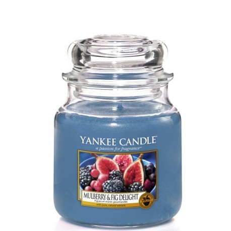Mulberry & Fig Delight - Yankee Candle Medium Jar