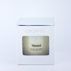 Monoi - Scented Candle in Glass box
