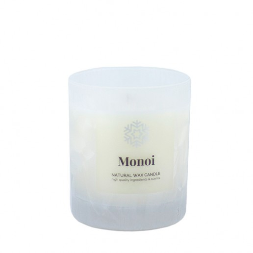 Monoi - Scented Candle in Glass