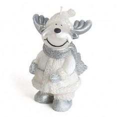 Moose Figurine Handmade Gift Candle
