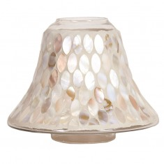 Mother Of Pearl Yankee Candle Jar Lamp Shade