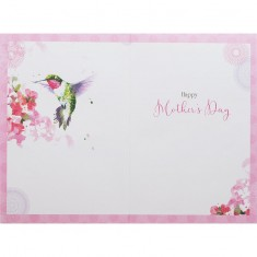 Mother's Day Card - Humming-Bird inside
