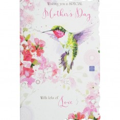 Mother's Day Card - Humming-Bird