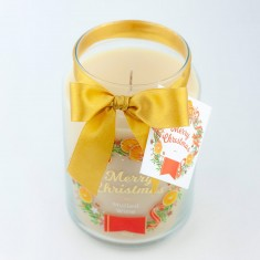 Mulled Wine Scented Candle in Large Jar angle