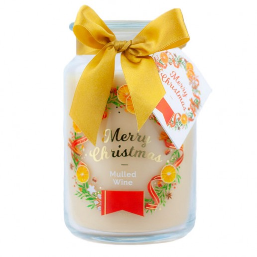 Mulled Wine Scented Candle in Large Jar