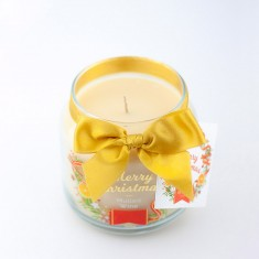 Mulled Wine Scented Candle in Medium Jar angle