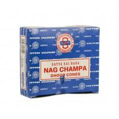Nag Champa Dhoop - Satya Incense Cones