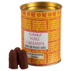 Nag Champa - Goloka Backflow Incense Cones