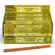 Nag Champa & Jasmine - Tulasi Hand rolled Incense Sticks