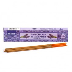 Nag Champa & Lavender - Tulasi Hand rolled Incense Sticks packet