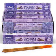 Nag Champa & Lavender - Tulasi Hand rolled Incense Sticks