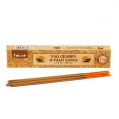 Nag Champa & Palo Santo - Tulasi Hand rolled Incense Sticks packet