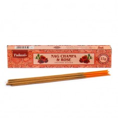Nag Champa & Rose - Tulasi Hand rolled Incense Sticks packet