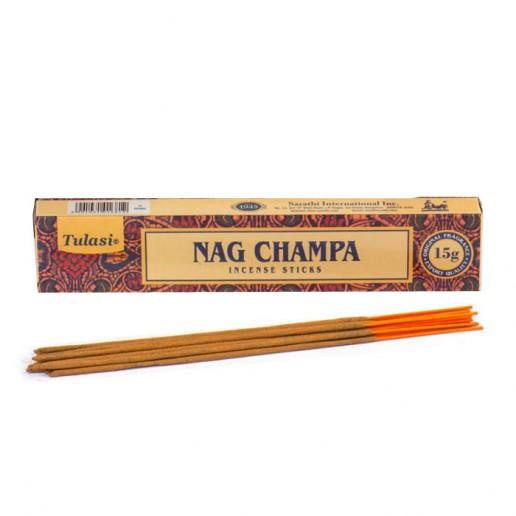 Nag Champa - Tulasi Hand rolled Incense Sticks packet.jpg