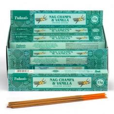 Nag Champa & Vanilla - Tulasi Hand rolled Incense Sticks