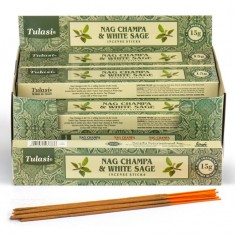 Nag Champa & White Sage - Tulasi Hand rolled Incense Sticks