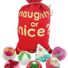 Naughty or Nice Gift Set - Bath Bomb Cosmetics