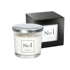 No 1 Double Wick Candle with box