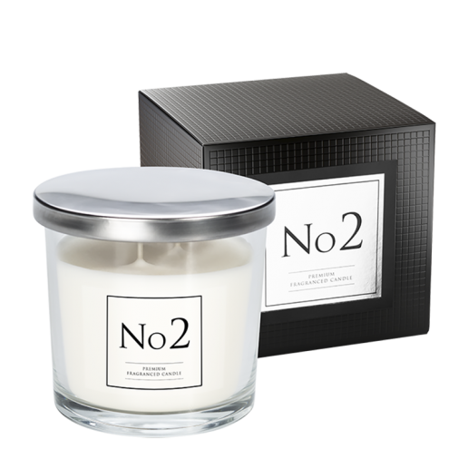 No 2 Double Wick Candle with box