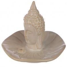 Ceramic Buddha Incense Sticks And Cone Burner