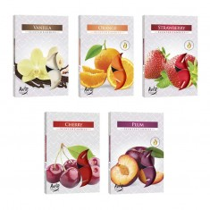Offer - Fruity Scented Tea Lights 5 Boxes