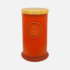 Orange Pomander - Tall Pillar Jar Candle
