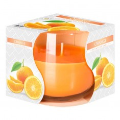 Orange - Scented Candle in Glass Best Smelling Cheap Sale Discounts