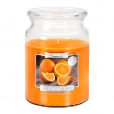 Orange - Scented Candle Large Jar Best Smelling Cheap