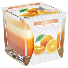 Orange - Triple Layered Scented Candle