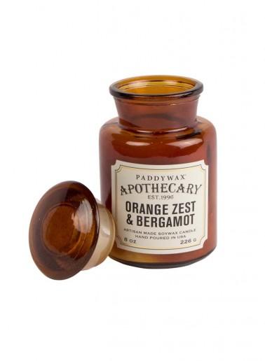 Orange Zest & Bergamot - Apothecary Paddywax Candle