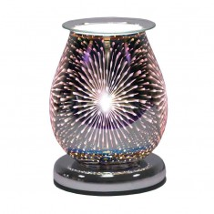 Oval 3D Electric Wax Melt Oil Burner - Fountain
