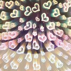 Oval 3D Electric Wax Melt Oil Burner - Hearts zoom