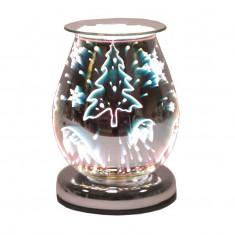 Oval 3D Electric Wax Melt Oil Burner - Reindeer.jpg
