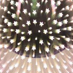 Oval 3D Electric Wax Melt Oil Burner - Shooting Star zoom