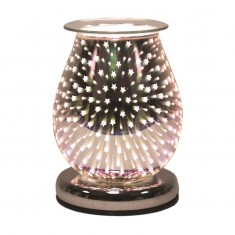 Oval 3D Electric Wax Melt Oil Burner - Shooting Star